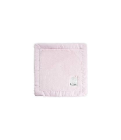 LOVE by Little Giraffe Posh Satin Blanky