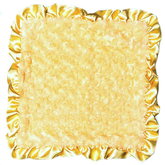 Max Daniel Rosebuds and Satin Security Blanket (Butter)