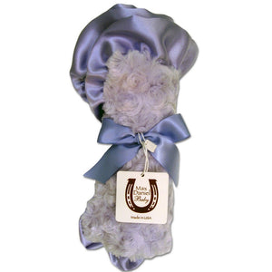 Max Daniel Rosebuds and Satin Security Blanket (Lavender)