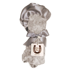 Max Daniel Rosebuds and Satin Security Blanket(Platinum)