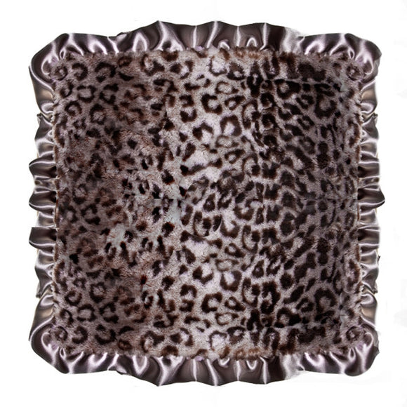 Max Daniel Animal Prints Security Blanket (Grey Jaguar)
