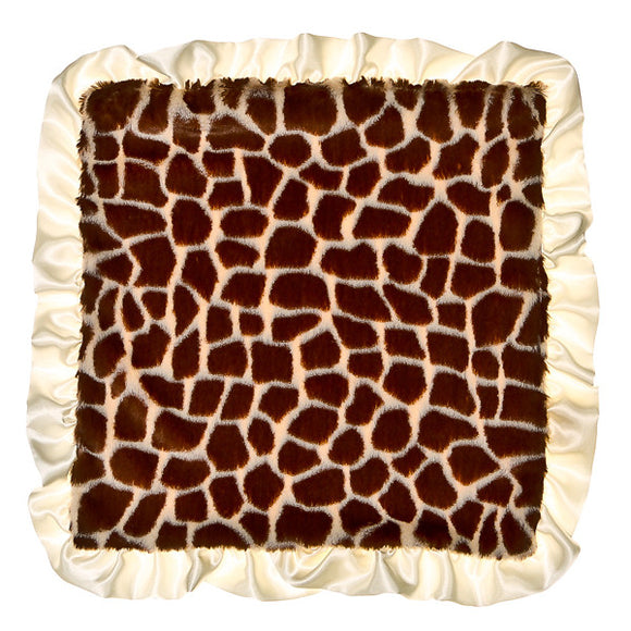 Max Daniel Animal Prints Security Blanket (Ivory Giraffe )