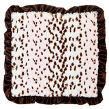 Max Daniel Animal Prints Security Blanket (Pink Snow Lepard)