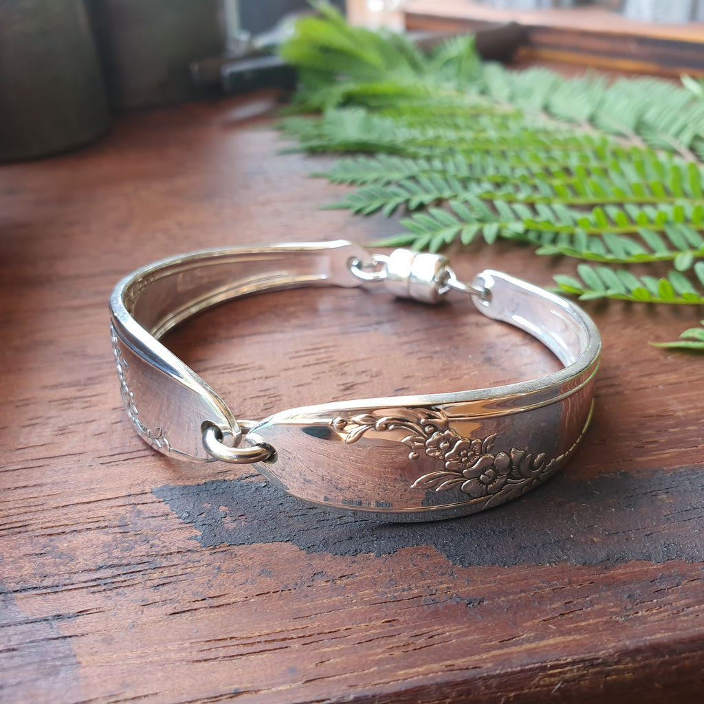 Antique Spoon Handle Bracelet 16-20cm