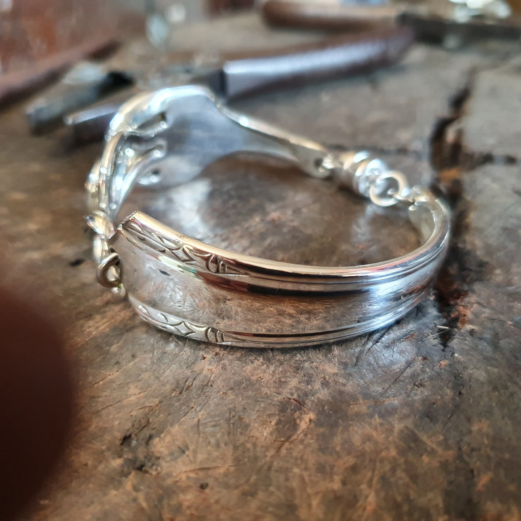 Antique Fork Bracelet 17cm
