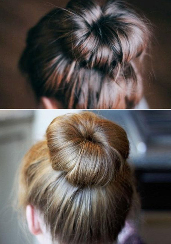 Creating a Simple Ballet Bun