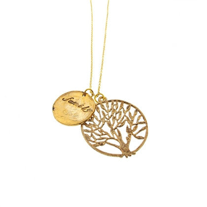 Family Tree Pendant - Hottie Australia