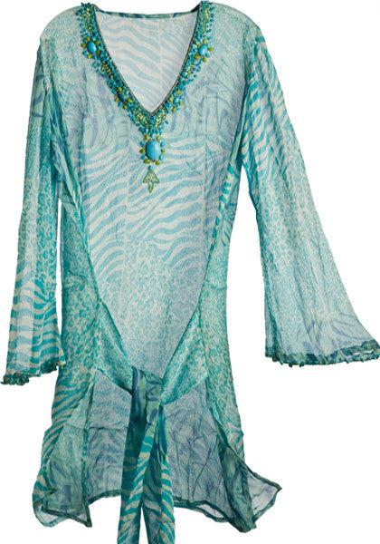 Azure Cruise Tunic - Hottie Australia  - 1