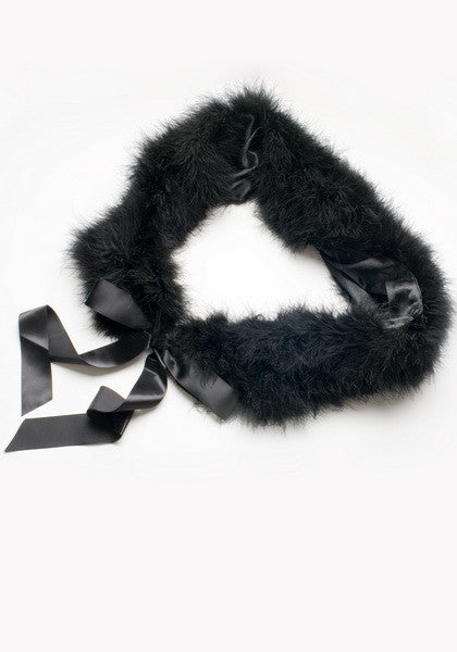 Genuine Marabou Wrap - Hottie Australia  - 2