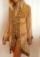 Mowgli Swing Jacket Gold - Hottie Australia  - 4