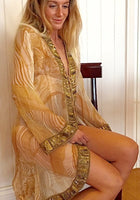 Mowgli Swing Jacket Gold - Hottie Australia  - 1