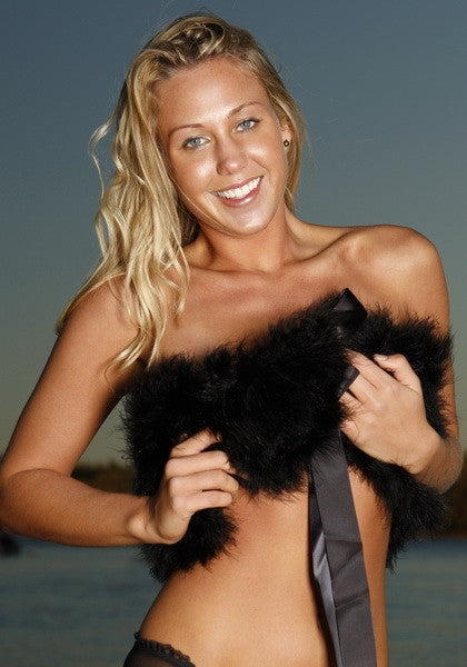 Genuine Marabou Wrap - Hottie Australia  - 1
