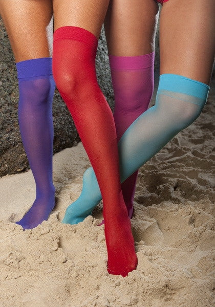 Jewel Tone Stockings - Hottie Australia  - 1