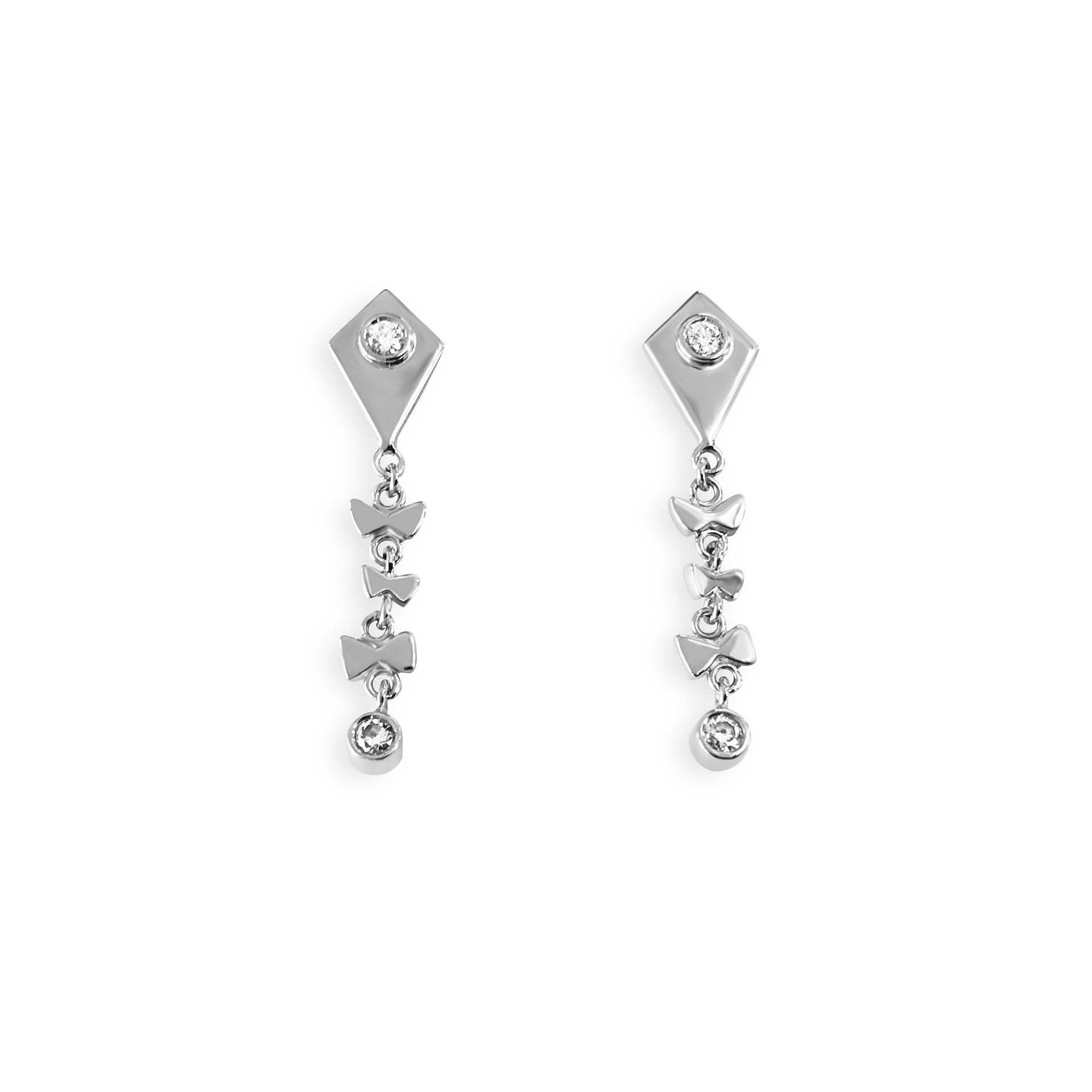 by diamond the woods jewelry raw ovalsby ovals earrings fine