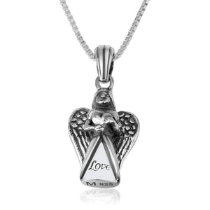 Sterling Silver Angel Love Pendant