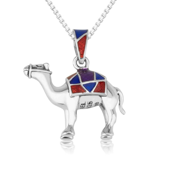 Sterling Silver 925  Camel Pendant