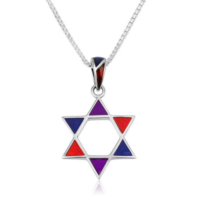 Sterling Silver 925  Star of david Pendant