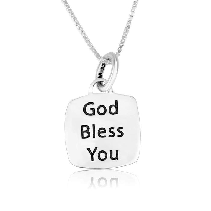 Sterling Silver 925  Blessings Pendant