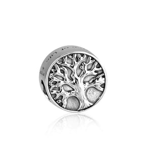 Sterling Silver 925  Tree Of Life Bead Charm