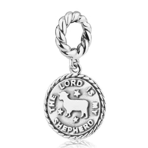 Sterling Silver 925  Blessings Hang Bead Charm