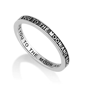 Sterling Silver 925  Blessings Ring