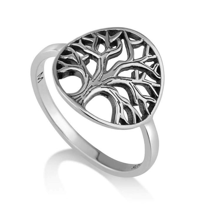 Sterling Silver 925  Tree Of Life Ring