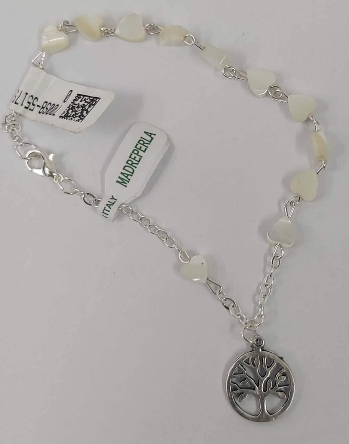 Mother of pearl Rosary Bracelet Bracelet