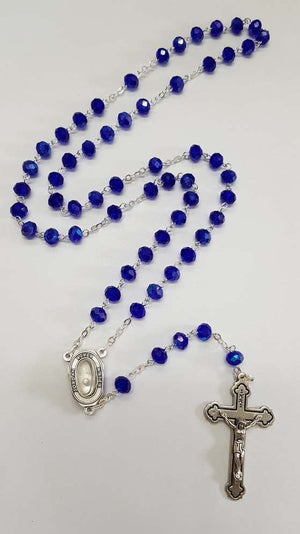 Blue Jordan Water River Necklace