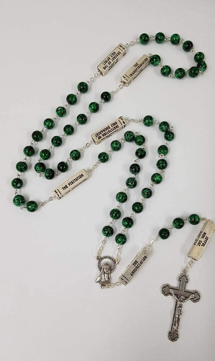 Malachite Special Rosary Necklace