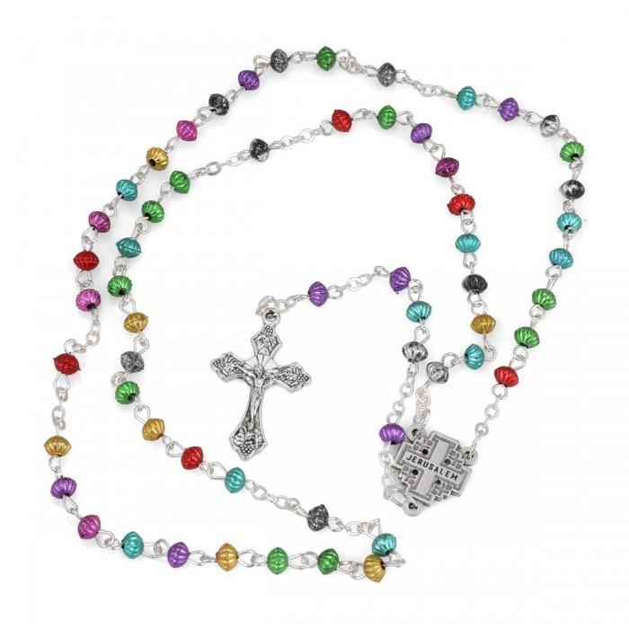 Mix of stones Rosary Necklace