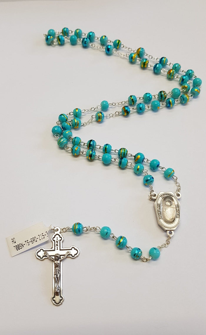 Aqua Jordan Water River Necklace