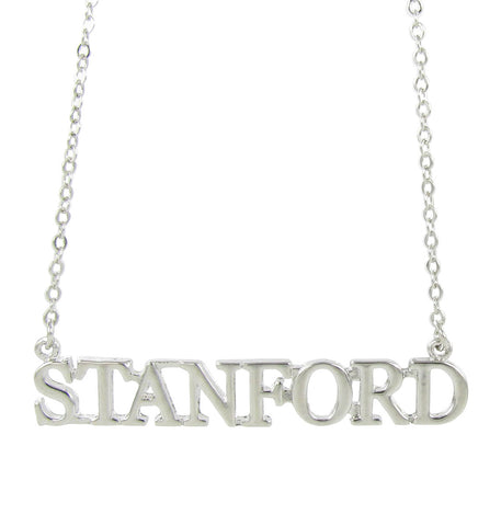 Metallic Stanford Pendant Necklace