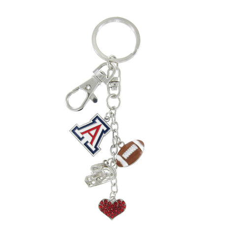 Arizona Wildcats Football Combo Key Chain