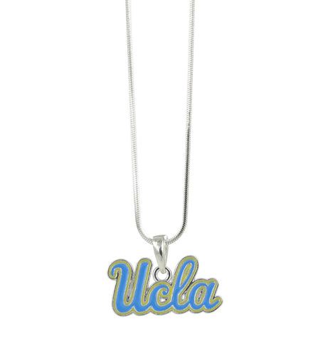 UCLA Blue and Gold Pendant Necklace