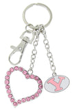 Pink BYU Love Combo Key Chain