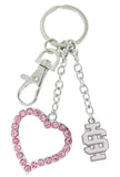 Pink ISU Love Combo Key Chain