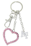 Pink Air Force Academy AF Love Combo Key Chain