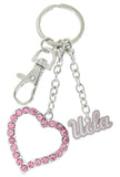 Pink UCLA Love Key Chain