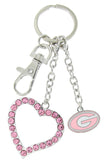 Pink Georgia Love Key Chain
