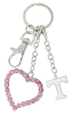 Pink Tennessee Love Key Chain