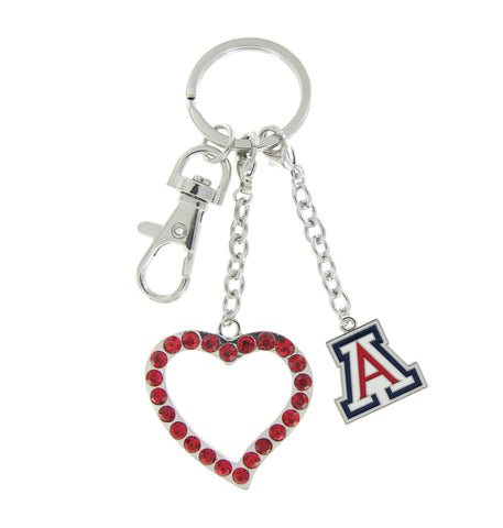 Arizona Love Key Chain - Red