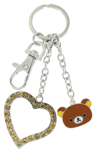 Rilakkuma Love Key Chain