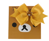 Rilakkuma Ribbon Bow Hair Clip - Yellow
