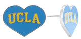 Flat UCLA Love Stud Earrings