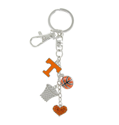 Tennessee Volunteers Basketball Combo Key Chain