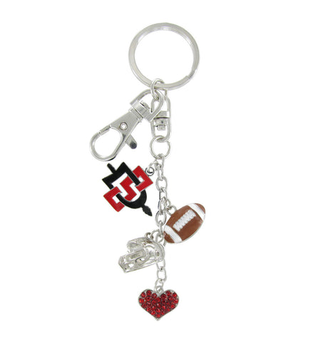 San Diego State Aztecs Football Combo Key Chain