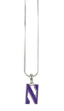 Northwestern N Logo Pendant Necklace