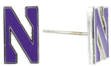 Northwestern Mini N Logo Stud Earrings