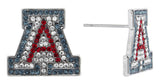 Crystal Arizona A Stud Earrings