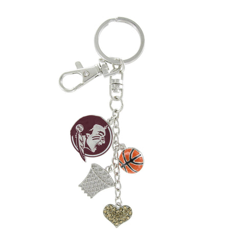 FSU Seminoles Basketball Combo Key Chain